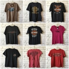 7a548b960c4 Harley Davidson t-shirts by the bundle- ON BACKORDER