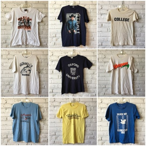 classic fit new specials low cost Vintage T-shirts by the pound-ON BACKORDER: Bulk Vintage ...