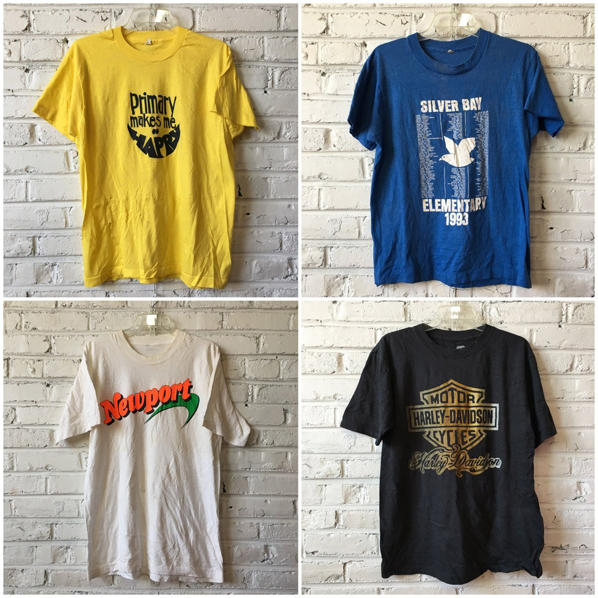 Vintage T-shirts by the Bundle: Bulk Vintage Clothing