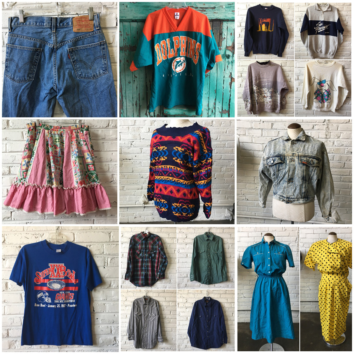 85695f0f Mixed Vintage Clothing (mens & womens) ...